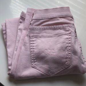 Ny & co. Pink legging jeans size 0